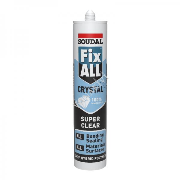 Liimhermeetik Fix ALL Crystal läbipaistev 290ml