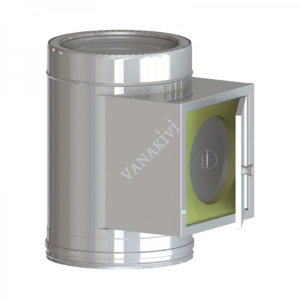 Saunakorsten Vilpra DW50 puhastusluugiga moodul Ø115mm