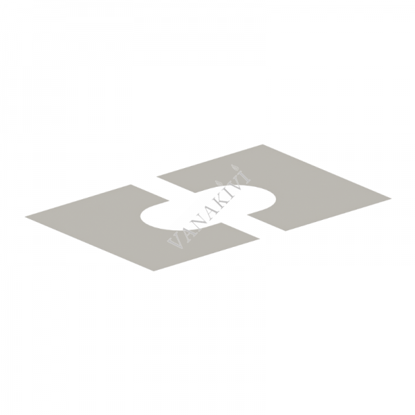 Korstna läbiviigu katteplaat Vilpra Ø230mm/0-25°