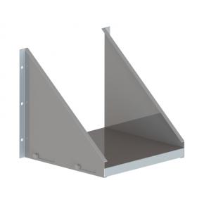 Kolmnurk seinatugi Vilpra (plaadiga) Ø210mm