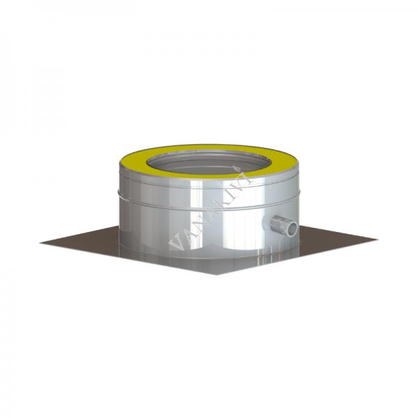 Moodulkorsten Vilpra DW25 põrandaplaat kondensaadi eraldiga Ø130mm