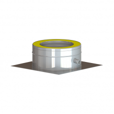 Saunakorsten Vilpra DW50 põrandaplaat kondensaadi eraldiga Ø130mm