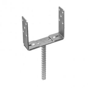 Betoonihark U-tüüp reguleeritav 0-200x60x136 4,0mm